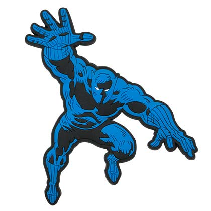 Black Panther Blue Mega Magnet