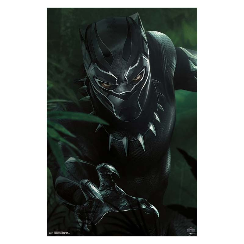 Black Panther T'Challa Poster
