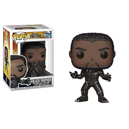 Black Panther Unmasked Funko Pop Vinyl Figure