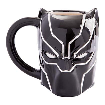Black Panther 20 Ounce Sculpted Coffee Mug