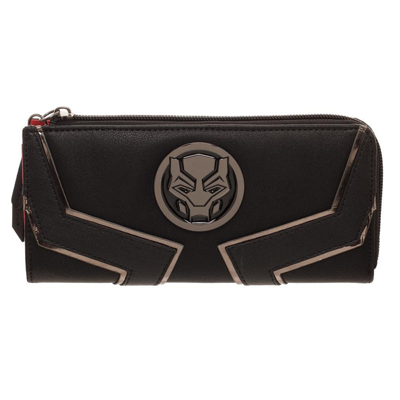 Black Panther Zip Around Wallet