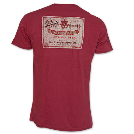 Blatz Back Graphic Tee Red