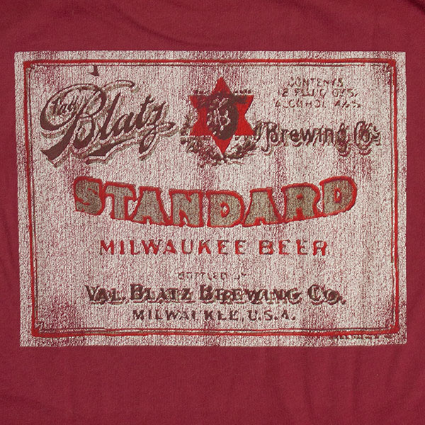 Blatz Beer Vintage Shirt | 600 x 600 jpeg 146kB