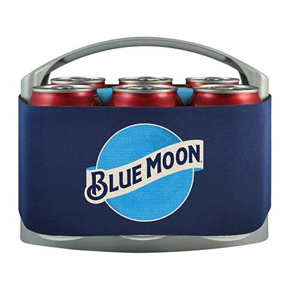 Blue Moon Brand 6 Pack Cooler