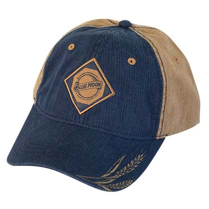 Blue Moon Two-Tone Denim Hat