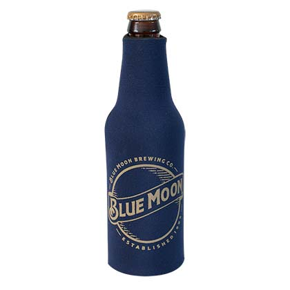 Blue Moon Foam Bottle Cooler