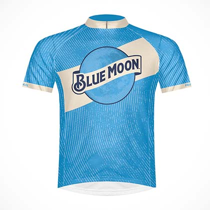 Blue Moon Men's Sport Cycling Jersey