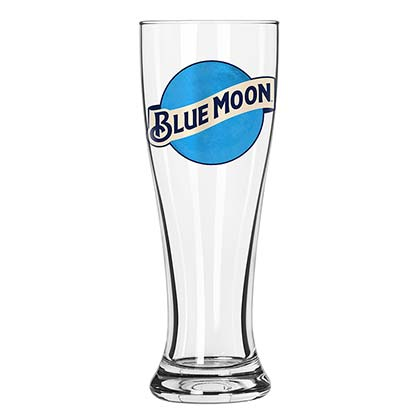 Blue Moon Pilsner Glass