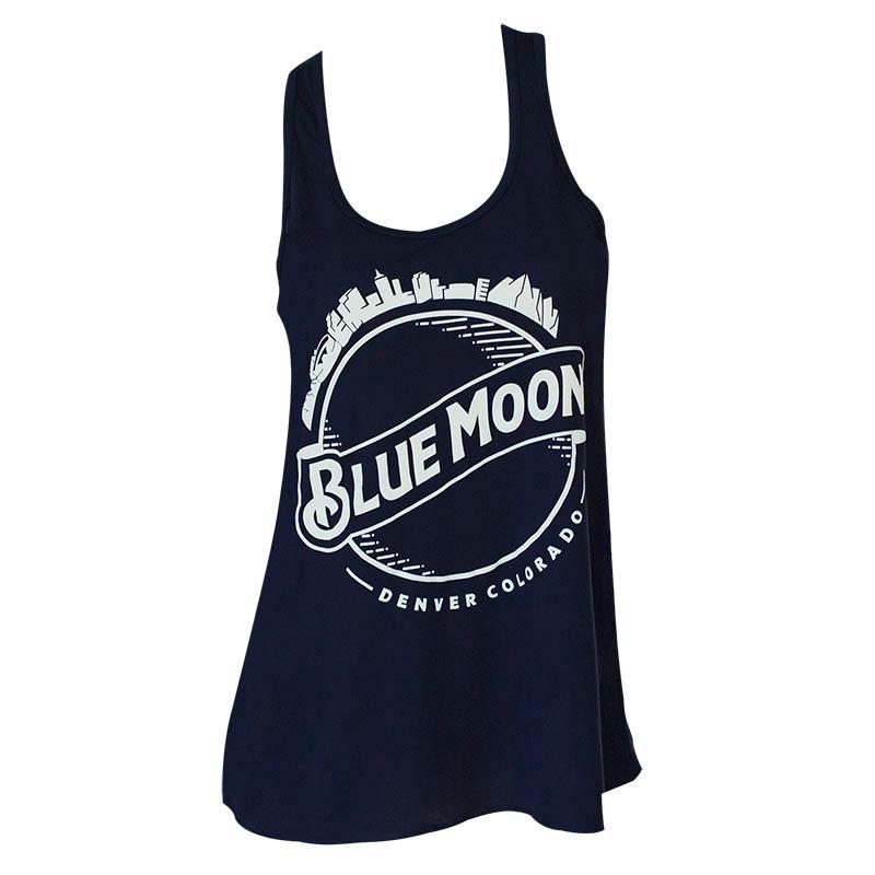 Blue Moon Women's Midnight Round Logo Tank Top