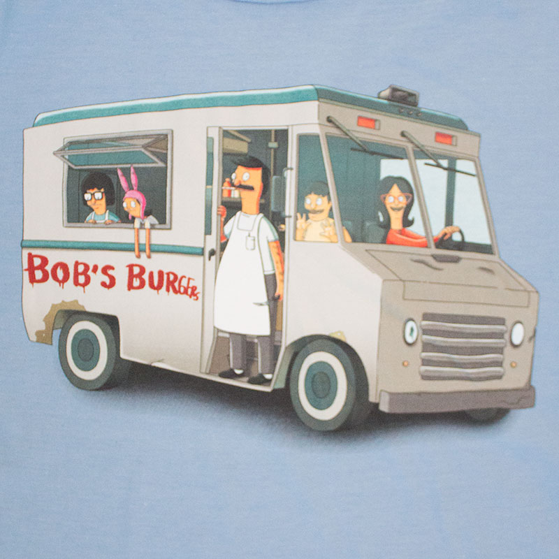 Bob's Burgers Men's Burger Truck Tee Shirt