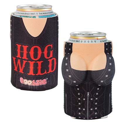 Hog Wild Boobzie Beer Can Cooler