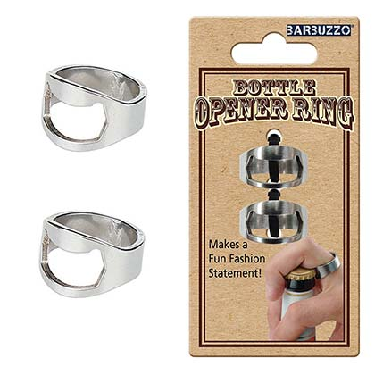 Bottle Opener Ring Set