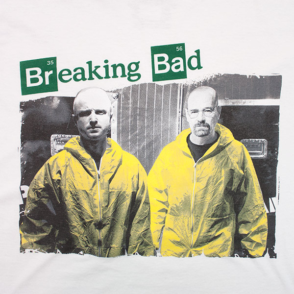 Breaking Bad Yellow Suits Duo Tee - White