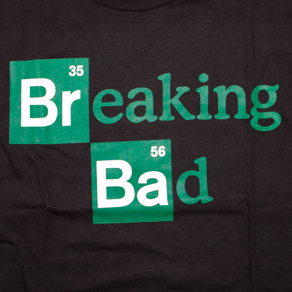 Breaking Bad Logo T-Shirt - Black