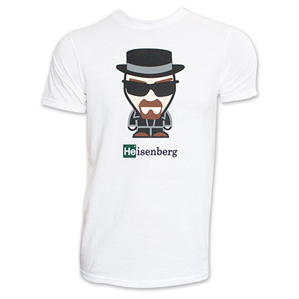 Breaking Bad Cartoon TShirt - White