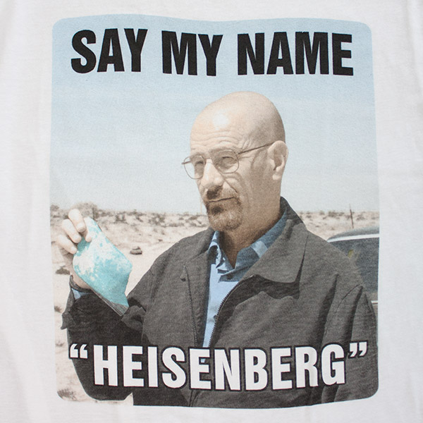Heisenberg Breaking Bad TShirt - White