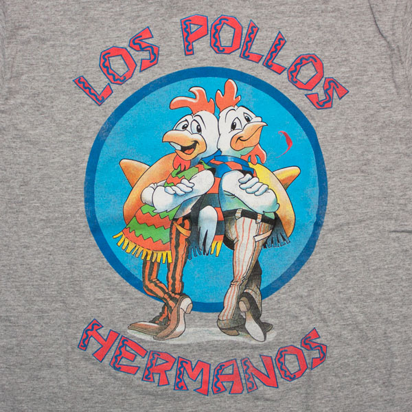 Breaking Bad Los Pollos Hermanos T-Shirt - Grey