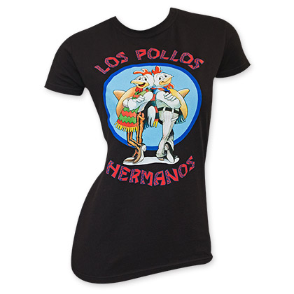 Breaking Bad Los Pollos Women's Tee Shirt