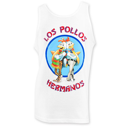 Breaking Bad Los Pollos White Tank Top