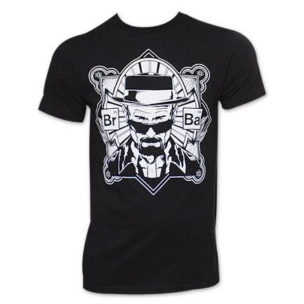 Breaking Bad Walter Crest TShirt - Black