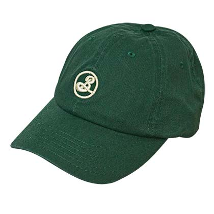 Brooklyn Brewery Green Strapback Dad Hat