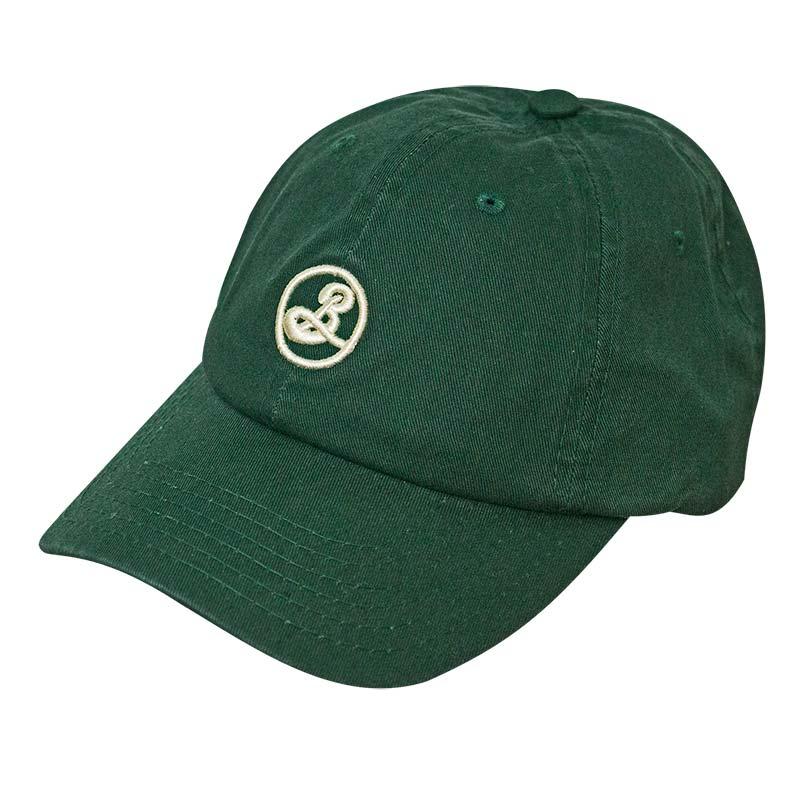Brooklyn Brewery Green Strapback Dad Hat