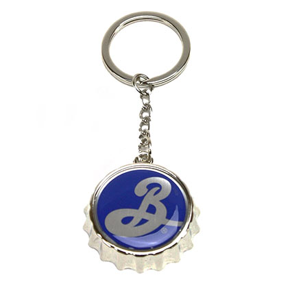 Brooklyn Brewery Bottlecap Bottle Opener Keychain