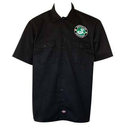 Brooklyn Brewery Dickies Black Work Shirt