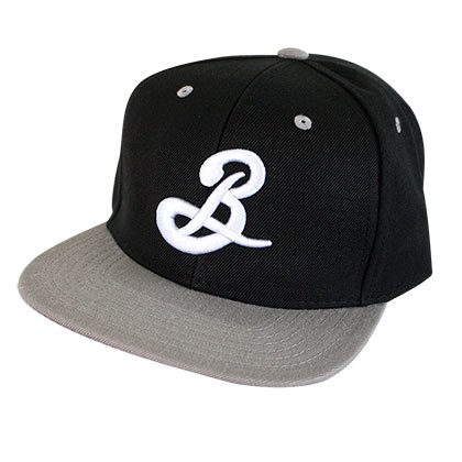 Brooklyn Brewery Grey Brim Snapback Hat