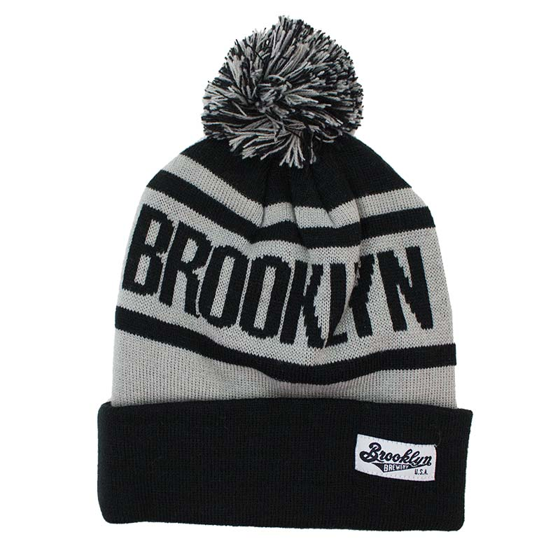 Brooklyn Brewery Knit Winter Pom Beanie
