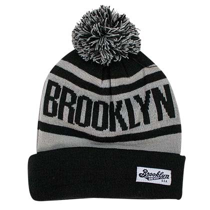 Brooklyn Brewery Pom Winter Beanie Hat