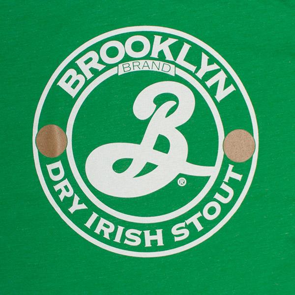 Green Brooklyn Brand Stout Beer Tee Shirt