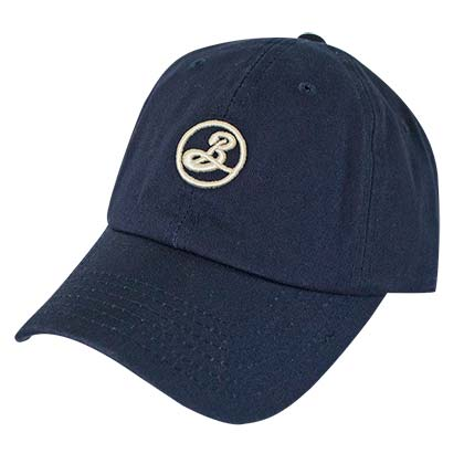 Brooklyn Brewery Navy Blue Dad Hat
