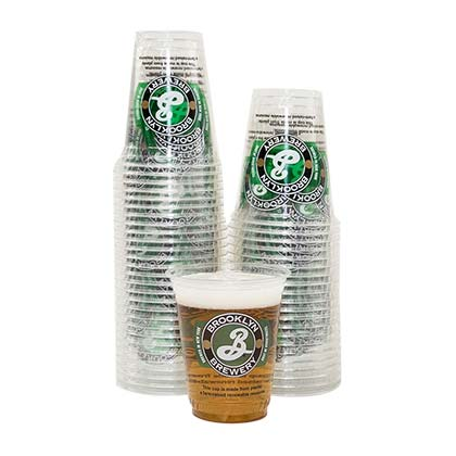 Brooklyn Brewery 50 Pack Clear Plastic Cups