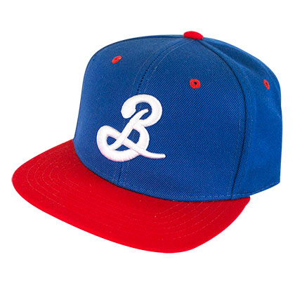 Brooklyn Brewery Blue Two-Tone Snapback Hat