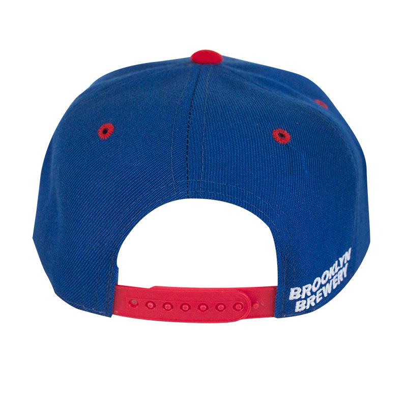 Brooklyn Brewery Blue Two-Tone Snapback Hat