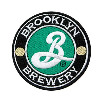 "Brooklyn Brewery Logo 3"" Patch"
