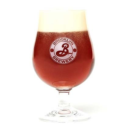 Brooklyn Brewery Logo Snifter Glass