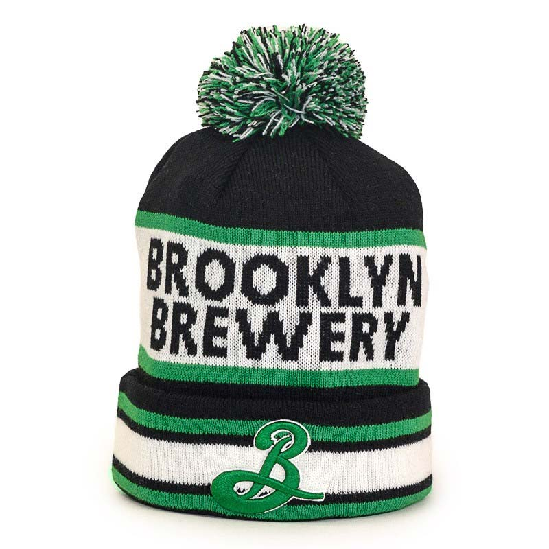 Popular Brooklyn Brewery Winter Pom Hat WB74