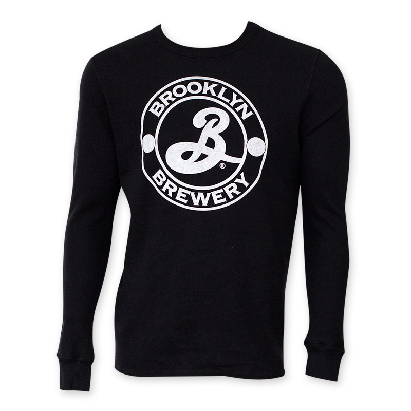 Brooklyn Brewery Black Long Sleeve Thermal