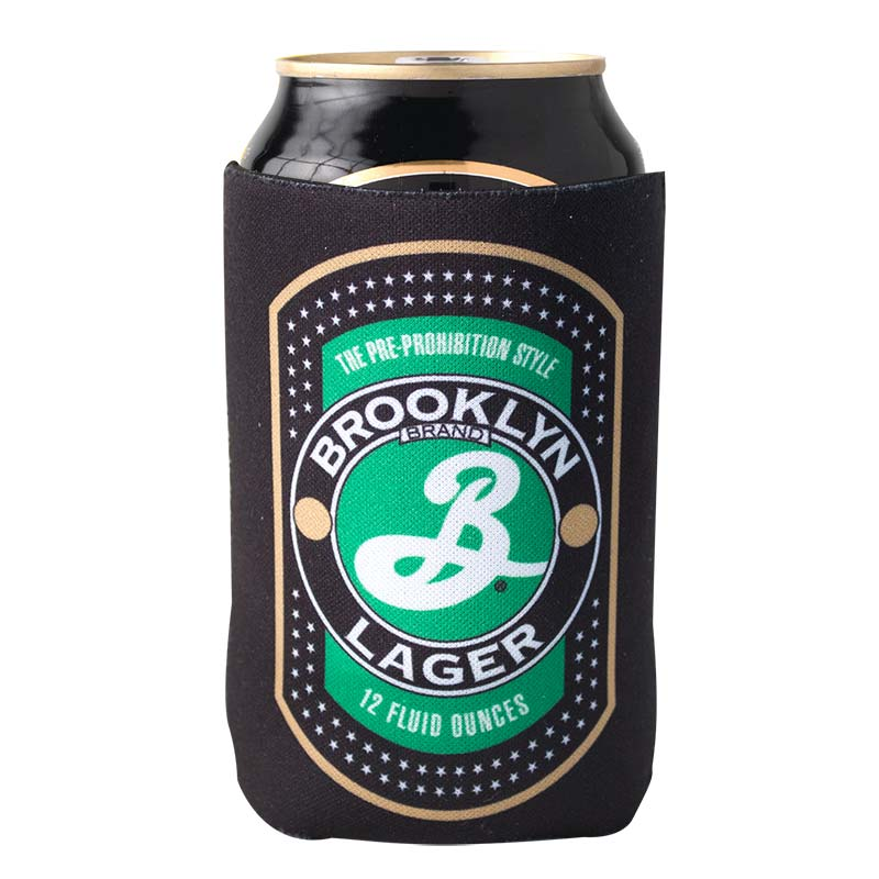 Kool A Brew Can Coolers ~ Brooklyn brewery black lager can cooler