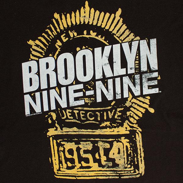 Brooklyn Nine-Nine Black Badge Tee Shirt