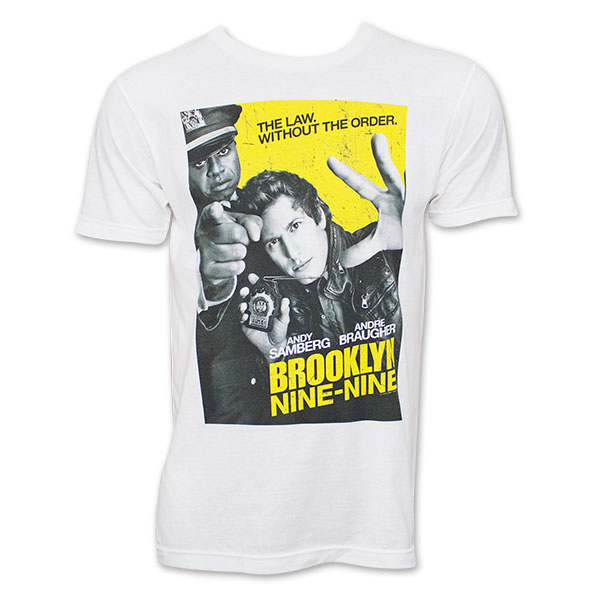 Brooklyn Nine-Nine Show Poster Tee Shirt