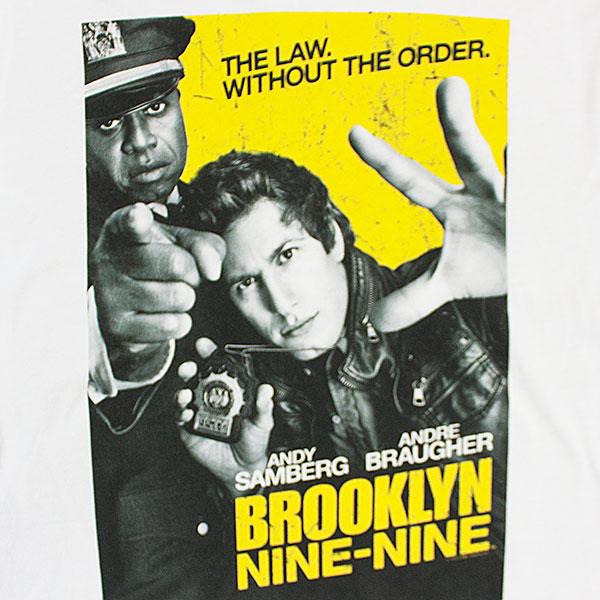 Brooklyn Nine-Nine Show Poster Tee Shirt