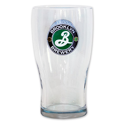 Brooklyn Brewery Beer Pint Glass