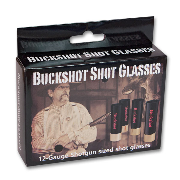 Buckshot Shot Glasses 4-Pack