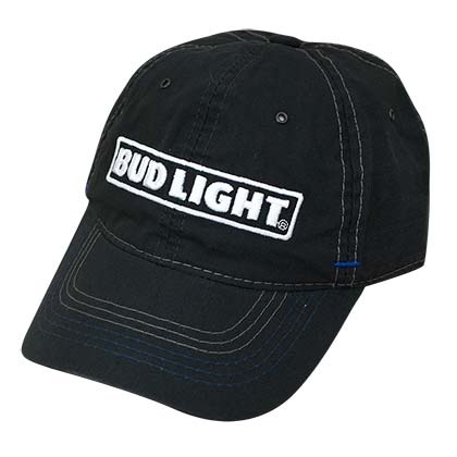 Bud Light Black Ripstop Hat