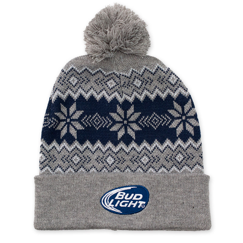 Bud Light Pom Pom Beanie