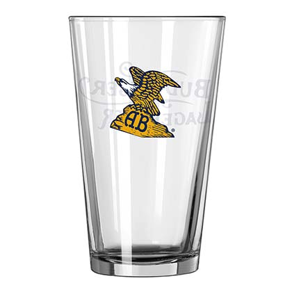 Budweiser Eagle Logo Pint Glass