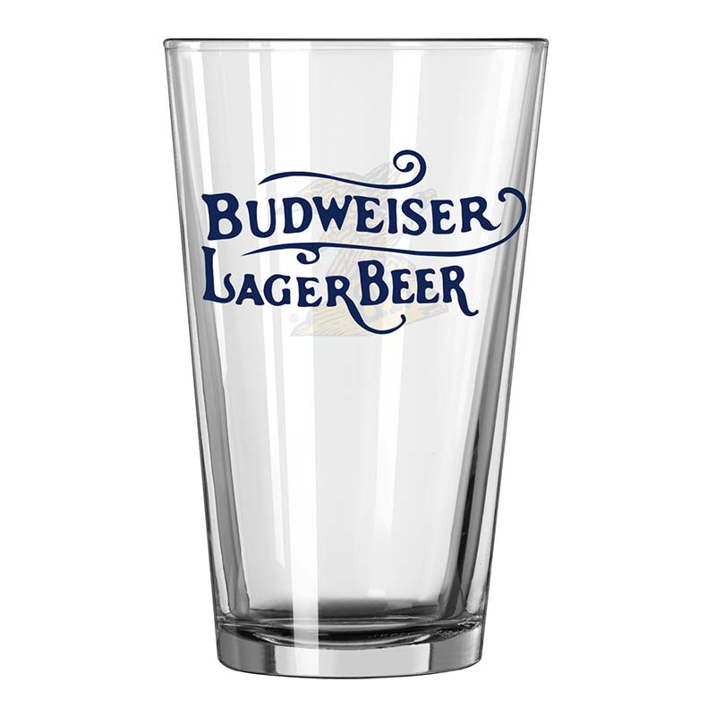 Budweiser Eagle Logo Pint Glass